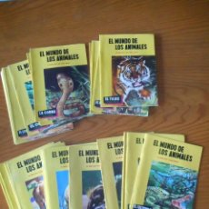 Libros de segunda mano: EL MUNDO DE LOS ANIMALES. EDITORIAL TORAY. COLECCIÓN COMPLETA 40 EJEMPLARES. NUEVOS, SIN USO.. Lote 146795270