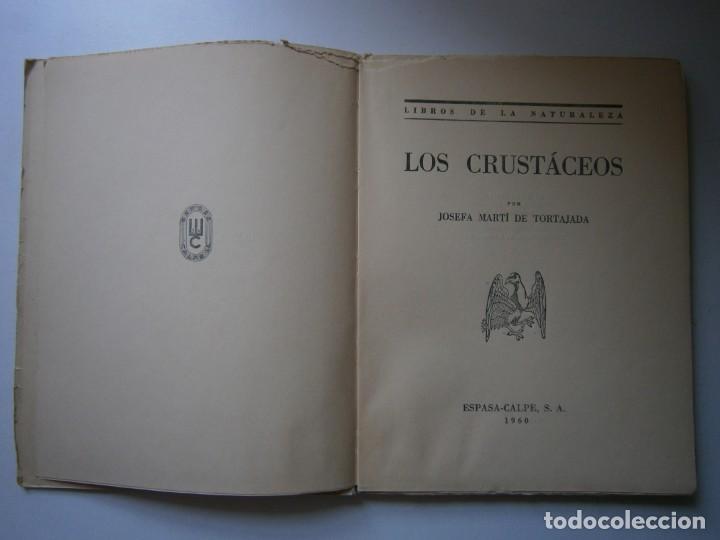 Libros de segunda mano: LOTE LIBROS DE LA NATURALEZA CRUSTACEOS POBLADORES DE MAR MUNDO ALADO MAMIFEROS MARINOS VIDA TIERRA - Foto 9 - 146870510