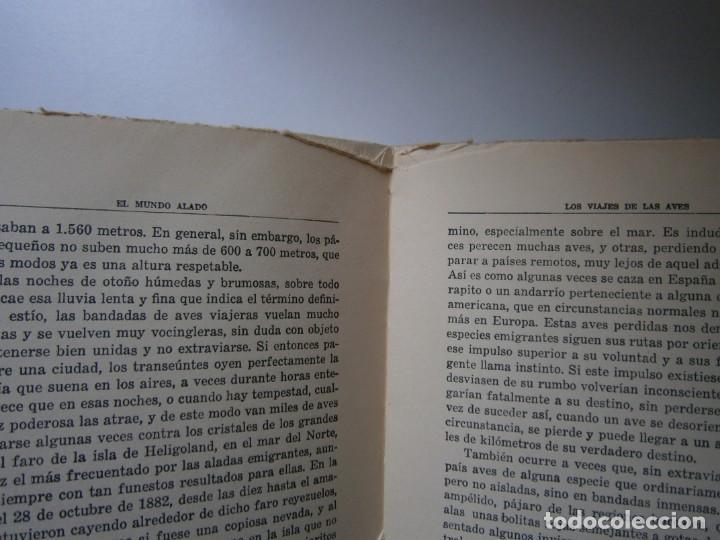 Libros de segunda mano: LOTE LIBROS DE LA NATURALEZA CRUSTACEOS POBLADORES DE MAR MUNDO ALADO MAMIFEROS MARINOS VIDA TIERRA - Foto 31 - 146870510