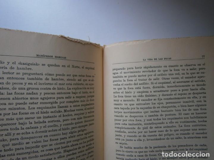 Libros de segunda mano: LOTE LIBROS DE LA NATURALEZA CRUSTACEOS POBLADORES DE MAR MUNDO ALADO MAMIFEROS MARINOS VIDA TIERRA - Foto 45 - 146870510