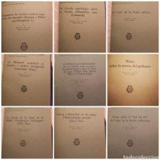 Libros de segunda mano: LOTE DE 11 TOMOS,MINISTERIO AGRICULTURA, ESTACION DE FITOPATOLOGIA, AÑOS 40. ENCUADERNAD. VER FOTOS. Lote 147090794