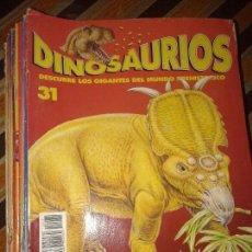 Libros de segunda mano: DINOSAURIOS DE PLANETA AGOSTINI - 1993 - 40 FASCICULOS DIFERENTES. Lote 147122634