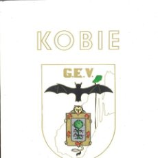 Libros de segunda mano: KOBIE. BOLETÍN 3. GRUPO ESPELEOLÓGICO VIZCAÍNO. 1979. Lote 147398138