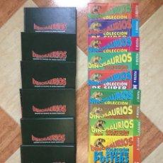 Libros de segunda mano: DINOSAURIOS - 6 TOMOS ENCUADERNADOS (70 FASCÍCULOS) + 9 POSTERS - PLANETA AGOSTINI 1993 (1A EDICIÓN). Lote 147467837