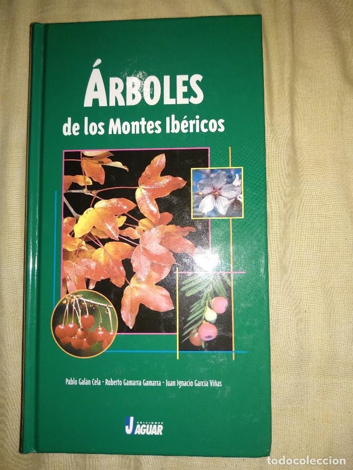 ARBOLES DE LA PENINSULA IBERICA LIBRO NUEVO FLORA VEGETACION EDICIONES JAGUAR ESPECIES GENEROS TIPOS (Libros de Segunda Mano - Ciencias, Manuales y Oficios - Biología y Botánica)
