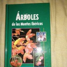 Libros de segunda mano: ARBOLES DE LA PENINSULA IBERICA LIBRO NUEVO FLORA VEGETACION EDICIONES JAGUAR ESPECIES GENEROS TIPOS. Lote 147495366