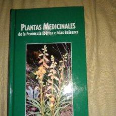 Libros de segunda mano: PLANTAS MEDICIALES DE LA PENINSULA IBERICA NUEVO JAGUAR VEGETACION FLORA ESPAÑA. Lote 147495790