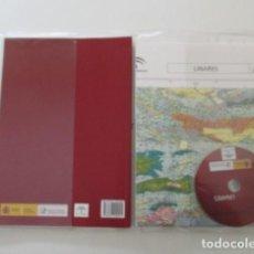 Libros de segunda mano: LINARES, JAÉN, MAPA GEOLÓGICO DE ESPAÑA, INSTITUTO GEOLOGICO Y MINERO DE ESPAÑA, ESTUDIO, MAPA Y DVD. Lote 147591898