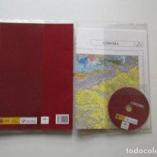 Libros de segunda mano: CÓRDOBA, MAPA GEOLÓGICO DE ESPAÑA, INSTITUTO GEOLOGICO Y MINERO DE ESPAÑA, ESTUDIO, MAPA Y DVD. Lote 147592058