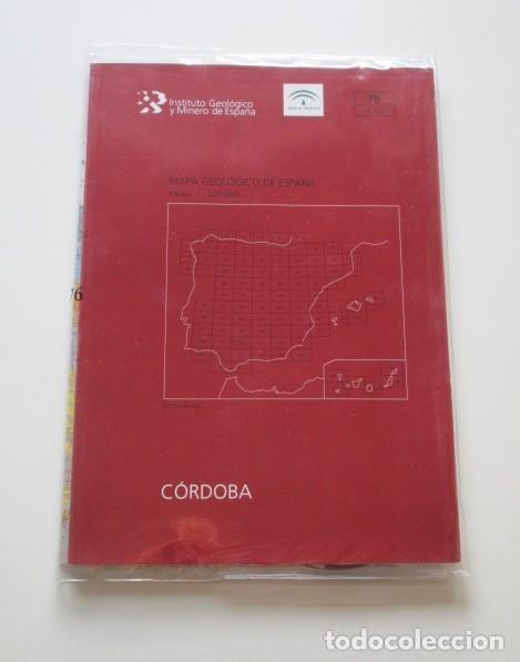 Libros de segunda mano: CÓRDOBA, MAPA GEOLÓGICO DE ESPAÑA, INSTITUTO GEOLOGICO Y MINERO DE ESPAÑA, ESTUDIO, MAPA Y DVD - Foto 3 - 147592058