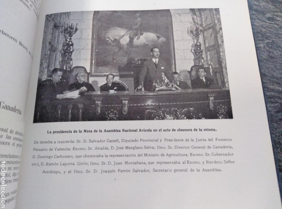 Libros de segunda mano: III ASAMBLEA NACIONAL,AVICULTORES,CUNICULTORES Y APICULTORES,1947, VALENCIA. - Foto 4 - 147613936