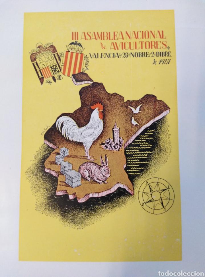 Libros de segunda mano: III ASAMBLEA NACIONAL,AVICULTORES,CUNICULTORES Y APICULTORES,1947, VALENCIA. - Foto 3 - 147613936