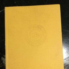 Libros de segunda mano de Ciencias: BOLETÍN ACADÉMICO DEL INSTITUTO QUÍMICO DE SARRIÀ 1965-1966.. Lote 147787104
