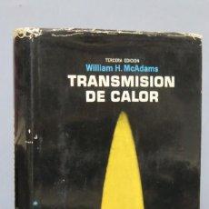 Libros de segunda mano de Ciencias: TRANSMISION DE CALOR. WILLIAM H MCADAMS. Lote 147808158