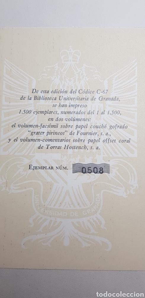 Libros de segunda mano: DE NATURA RERUM (LIB. IV-XII). TACUINUM SANITATIS. CODICE C-67. 1974. - Foto 12 - 147824712
