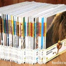 Libros de segunda mano: COLECCIÓN MIS ANIMALES FAVORITOS 33T POR VARIOS AUTORES DE ED. SOL90 / EL PAÍS EN MADRID 2006. Lote 262193450