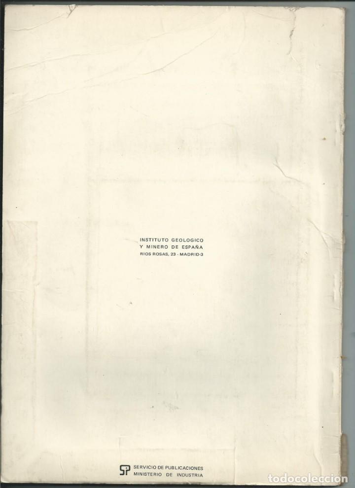 Libros de segunda mano: MAPA DE ROCAS INDUSTRIALES. E.1:200000. AVILÉS. ASTURIAS. 1973 - Foto 2 - 148034718
