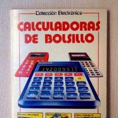 """Libri di seconda mano: """"CALCULADORAS DE BOLSILLO. MUCHOS JUEGOS, PUZZLES Y TRUCOS"""" - """"LEWIS, JOHN"""". Lote 148128201"""
