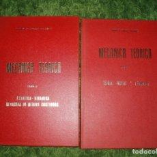 Libros de segunda mano de Ciencias: ENRIQUE BELDA VILLENA/MECANICA TEORICA.TOMO 1.TEORIAS PREVIAS.CINEMATICA.TOMO 2.ESTATICA-DINAMICA.. Lote 148170866