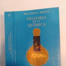 Libros de segunda mano de Ciencias: HISTORIA DE LA QUÍMICA 1998 WILLIAM H. BROCK 1ª EDICIÓN ALIANZA EN / 012. Lote 148171094