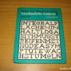 Libros de segunda mano de Ciencias: VISTA ANÁLISIS 2. CURSO INTENSIVO (IDIOMA ALEMÁN). ENRENWIRTH VERLAG GMBH. AÑO 1984. Lote 148211878