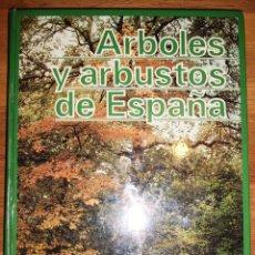 Libros de segunda mano: ÁRBOLES Y ARBUSTOS DE LA ESPAÑA / TEXTOS: JUAN RUIZ DE LA TORRE ; LÁMINAS: ERNESTO CERRA. Lote 148212062