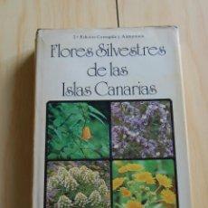 Libros de segunda mano: FLORES SILVESTRES DE LAS ISLAS CANARIAS, POR DAVID Y ZOE BRAMWELL - ED. RUEDA. Lote 148215814