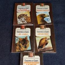 Libros de segunda mano: CUADERNOS DE CAMPO FELIX RODRÍGUEZ DE LA FUENTE. Lote 148223380