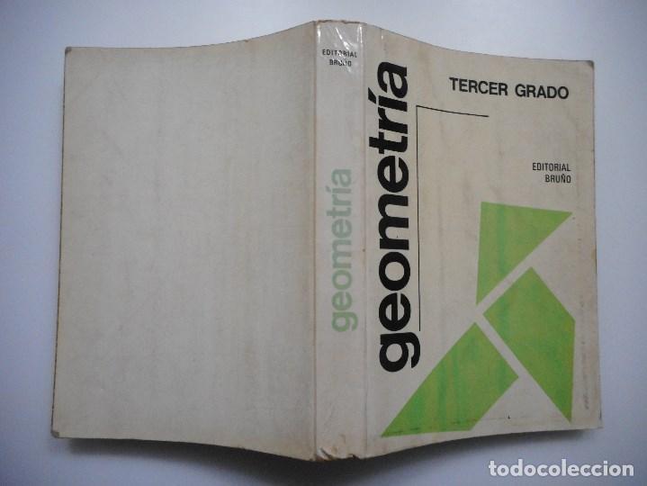 GEOMETRÍA. TERCER GRADO Y92107 (Libros de Segunda Mano - Ciencias, Manuales y Oficios - Física, Química y Matemáticas)