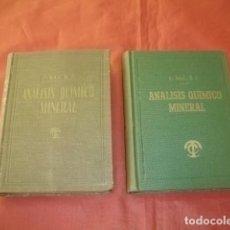 Libri di seconda mano: TEORÍA Y PRÁCTICA DEL ANÁLISIS QUÍMICO MINERAL (TOMOS I Y II) - P. EUGENIO SAZ, S.J.. Lote 148409714