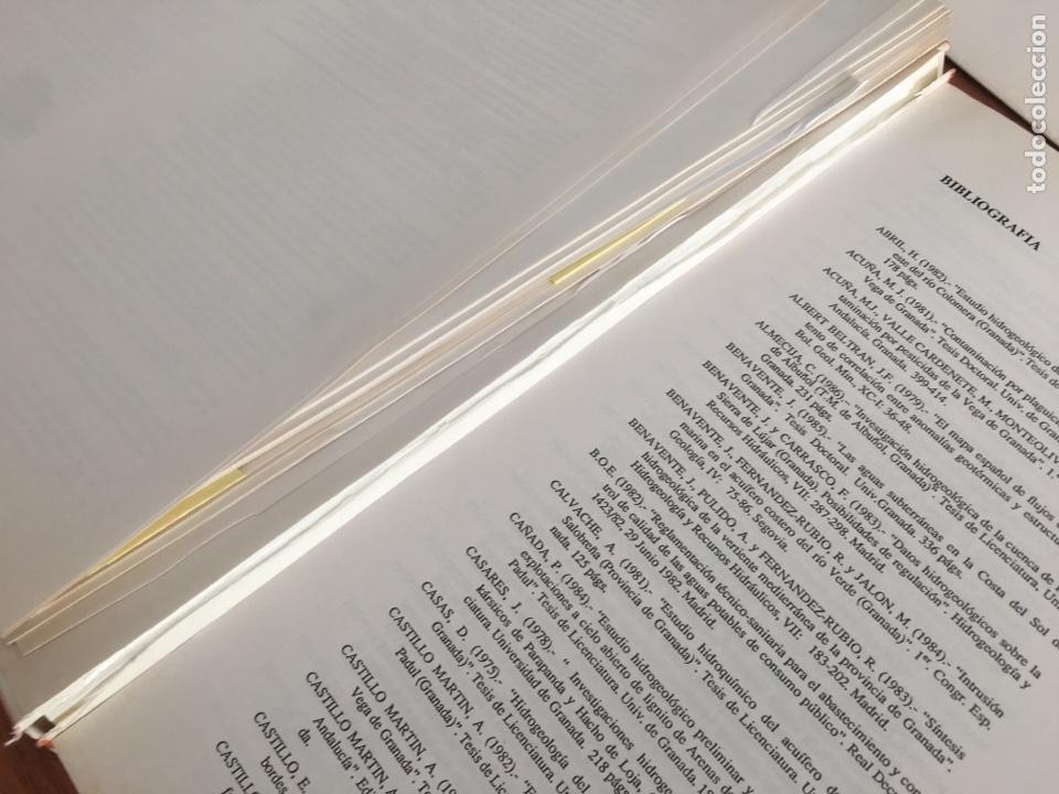 Libros de segunda mano: ATLAS HIDROGEOLÓGICO DE LA PROVINCIA DE GRANADA DIPUTACIÓN PROVINCIAL GRANADA ; INSTITUTO TECNOLÓG - Foto 2 - 148531034