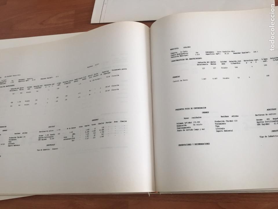 Libros de segunda mano: ATLAS HIDROGEOLÓGICO DE LA PROVINCIA DE GRANADA DIPUTACIÓN PROVINCIAL GRANADA ; INSTITUTO TECNOLÓG - Foto 3 - 148531034