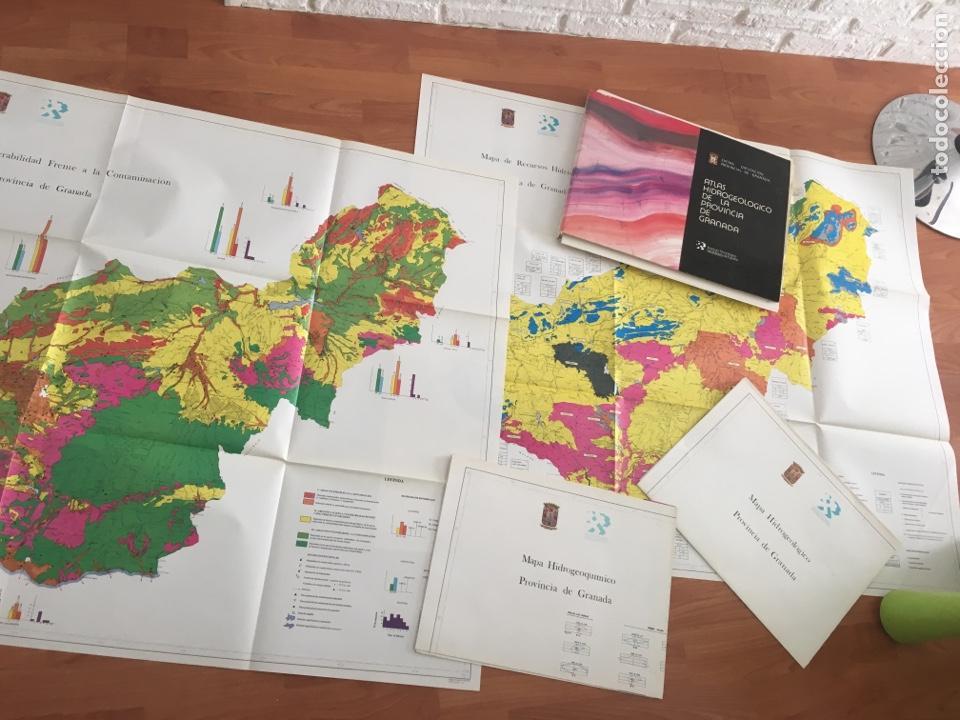 Libros de segunda mano: ATLAS HIDROGEOLÓGICO DE LA PROVINCIA DE GRANADA DIPUTACIÓN PROVINCIAL GRANADA ; INSTITUTO TECNOLÓG - Foto 5 - 148531034