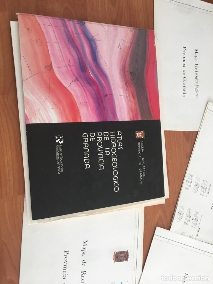 Libros de segunda mano: ATLAS HIDROGEOLÓGICO DE LA PROVINCIA DE GRANADA DIPUTACIÓN PROVINCIAL GRANADA ; INSTITUTO TECNOLÓG - Foto 4 - 148531034