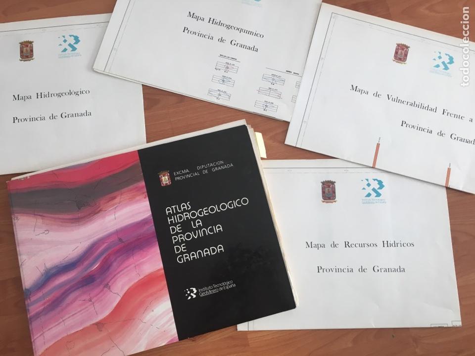 ATLAS HIDROGEOLÓGICO DE LA PROVINCIA DE GRANADA DIPUTACIÓN PROVINCIAL GRANADA ; INSTITUTO TECNOLÓG (Libros de Segunda Mano - Ciencias, Manuales y Oficios - Paleontología y Geología)