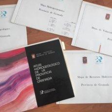 Libros de segunda mano: ATLAS HIDROGEOLÓGICO DE LA PROVINCIA DE GRANADA DIPUTACIÓN PROVINCIAL GRANADA ; INSTITUTO TECNOLÓG. Lote 148531034