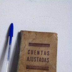 Libri di seconda mano: LIBRO CUENTAS AJUSTADAS 1942. VDA OLIVERO. BARCELONA. Lote 148543073