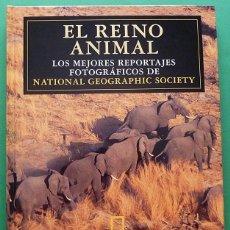 Libros de segunda mano: EL REINO ANIMAL: LOS MEJORES REPORTAJES FOTOGRÁFICOS DE NATIONAL GEOGRAPHIC - EL PAÍS - 1996 - NUEVO. Lote 148862086