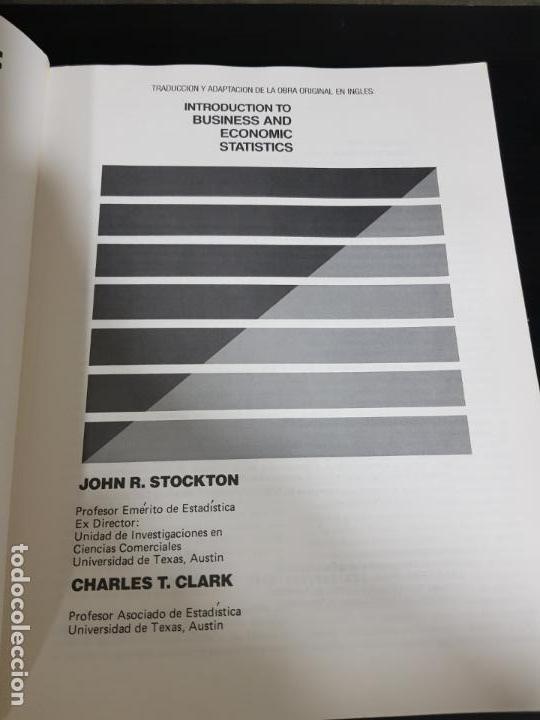 Libros de segunda mano de Ciencias: METODOS ESTADISTICOS, TEORIA Y PRÁCTICA.RAMON CAO GARCIA. - Foto 3 - 148957466