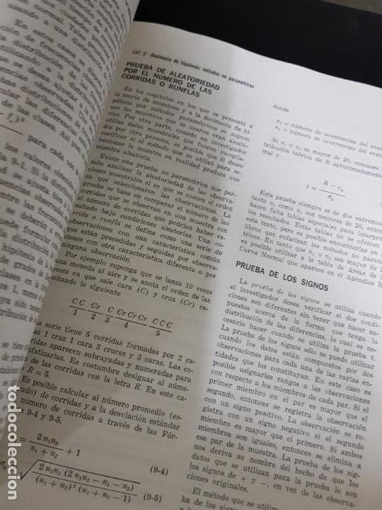 Libros de segunda mano de Ciencias: METODOS ESTADISTICOS, TEORIA Y PRÁCTICA.RAMON CAO GARCIA. - Foto 5 - 148957466