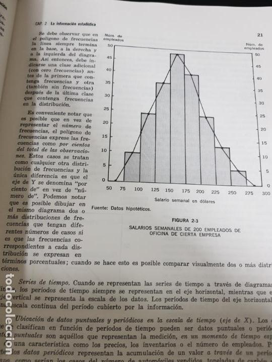 Libros de segunda mano de Ciencias: METODOS ESTADISTICOS, TEORIA Y PRÁCTICA.RAMON CAO GARCIA. - Foto 9 - 148957466
