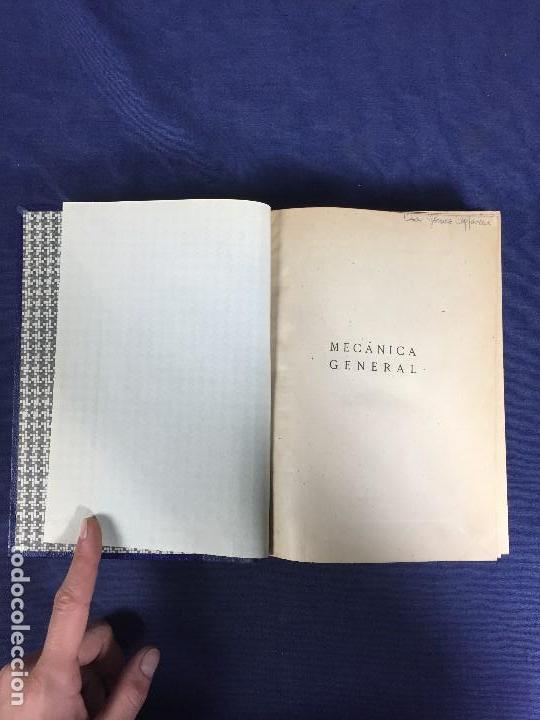 Libros de segunda mano de Ciencias: MECÁNICA GENERAL FERMÍN CASARES segunda edición 1942 escuela especial de ingenieros - Foto 8 - 149215302