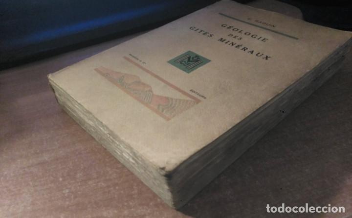 Libros de segunda mano: Géologie des Gites Minéraux, E. Raguin, 1949 - Foto 2 - 149252098