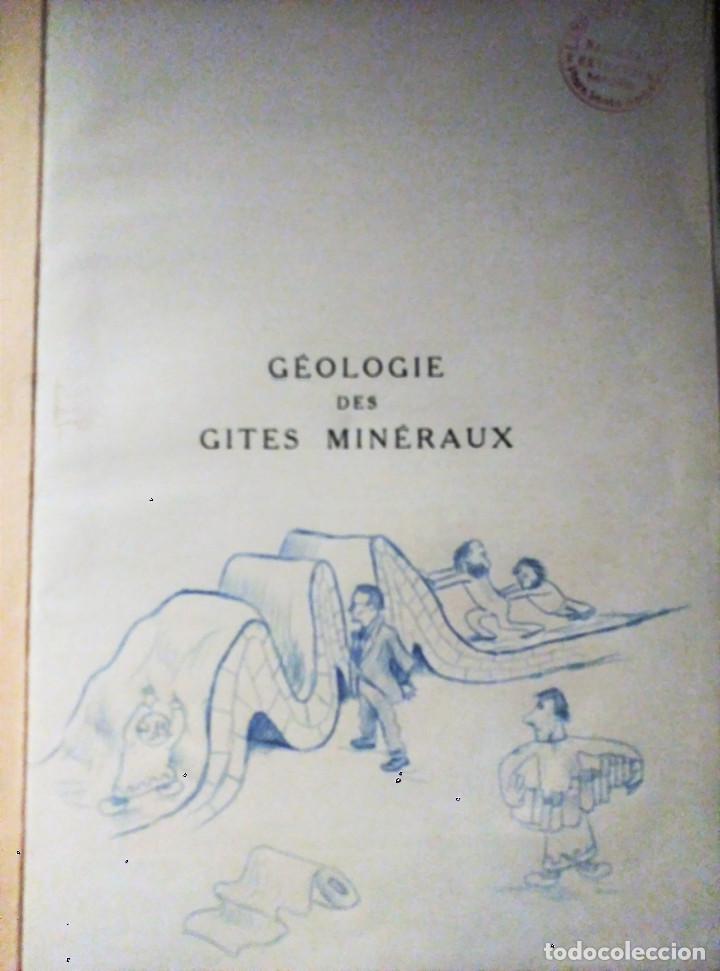 Libros de segunda mano: Géologie des Gites Minéraux, E. Raguin, 1949 - Foto 5 - 149252098