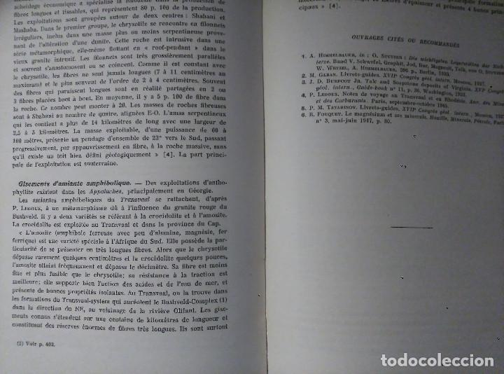 Libros de segunda mano: Géologie des Gites Minéraux, E. Raguin, 1949 - Foto 6 - 149252098
