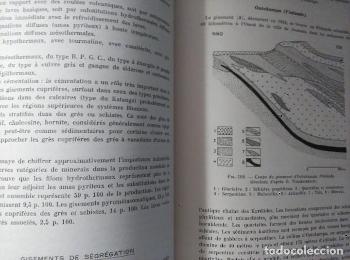 Libros de segunda mano: Géologie des Gites Minéraux, E. Raguin, 1949 - Foto 7 - 149252098