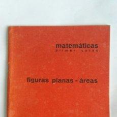Libros de segunda mano de Ciencias: CUADERNO BARREIRO-RUBIO FIGURAS PLANAS-ÁREAS MATEMÁTICAS 1 CURSO AÑOS 70. Lote 149401874