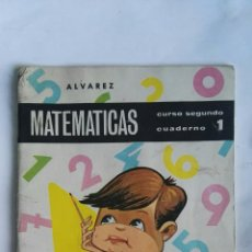 Libros de segunda mano de Ciencias: MATEMÁTICAS CURSO SEGUNDO CUADERNO 1 ÁLVAREZ. Lote 149402065