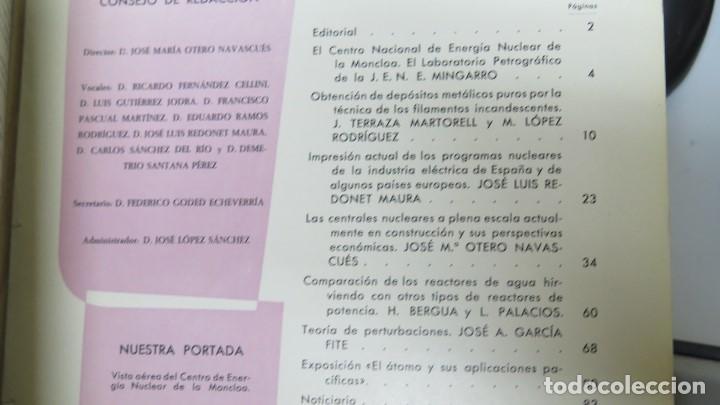 Libros de segunda mano de Ciencias: REVISTA. ENERGIA NUCLEAR. AÑO II. N. 7. 1958 - Foto 2 - 149462750