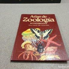 Libros de segunda mano: ATLAS DE ZOOLOGIA....INVERTEBRADOS...1988... Lote 149580942